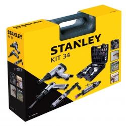 Zestaw narzędzi pneumatycznych STANLEY 34 części