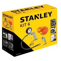 Zestaw pneumatyczny  STANLEY 6 szt.  9045717STN