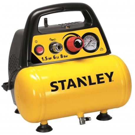 Kompresor bezolejowy 6l 8bar Stanley