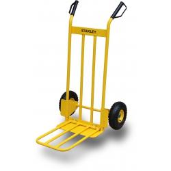 Wózek transportowy stalowy STANLEY z rozkładaną platformą