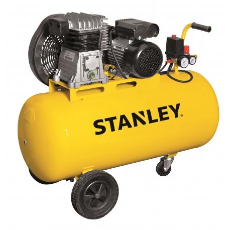 Kompresor olejowy 100l 9bar Stanley z pompa pasową