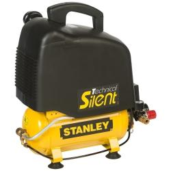 Cichy kompresor bezolejowy Stanley  6l 8bar