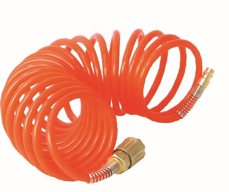 Wąż spiralny 5m + szybkozłączki
