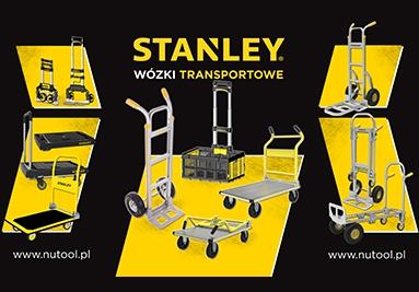 Wózki transportowe Stanley